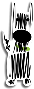 scribble facing